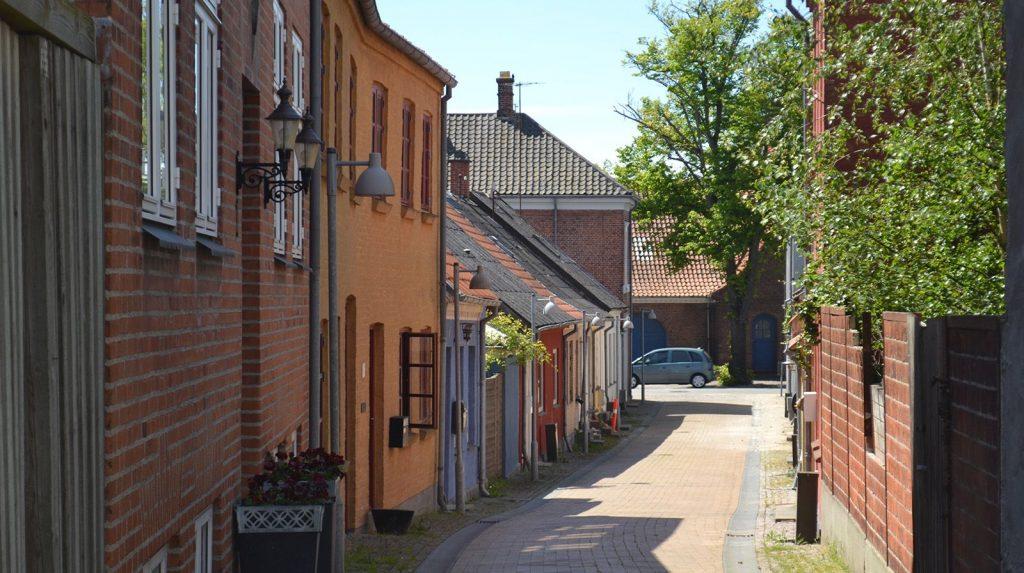 Bymiljø På Kongenstofte I Nakskov