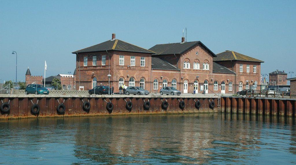 Den Anlagte Færgeby Gedser Havn