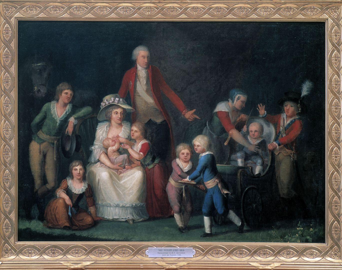 Familiebillede Reventlow