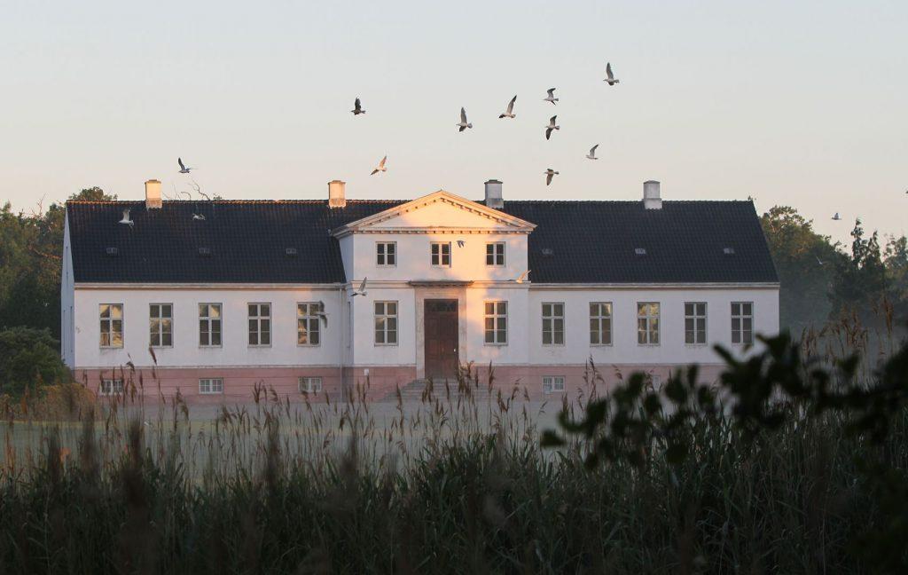 Fuglene letter over herregården Pederstrup