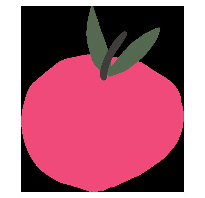 Zeichnung von Apfel
