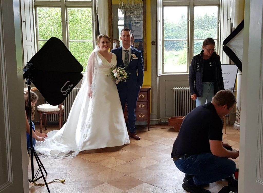 Brudepar på Pederstrup