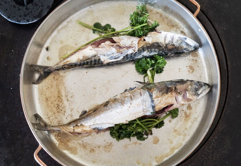 Fisk på tallerken